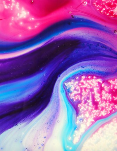 Abstract pink and purple artwork