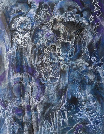 Painting by NorthCountryARTS artist Paul Chapman