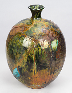 Pottery by NorthCountryARTS artist Dolores Thompson