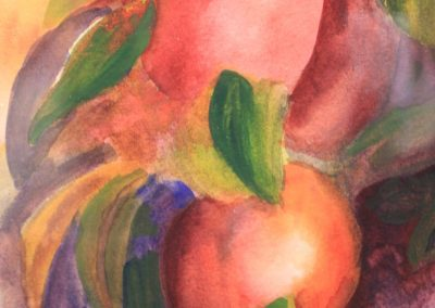 Painting by NorthCountryARTS artist Emily Latterell