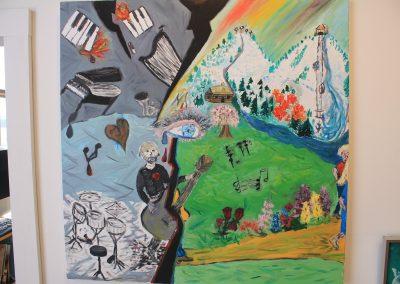 Painting by NorthCountryARTS artist Marta Baxter