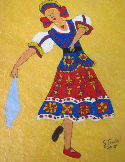 Painting by NorthCountryARTS member Jacky Touba