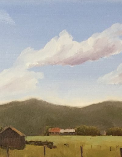 Painting by NorthCountryARTS artist Fred Holman