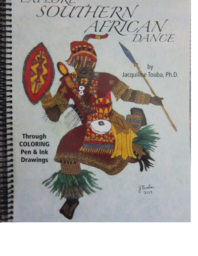Coloring book by NorthCountryARTS member Jacky Touba