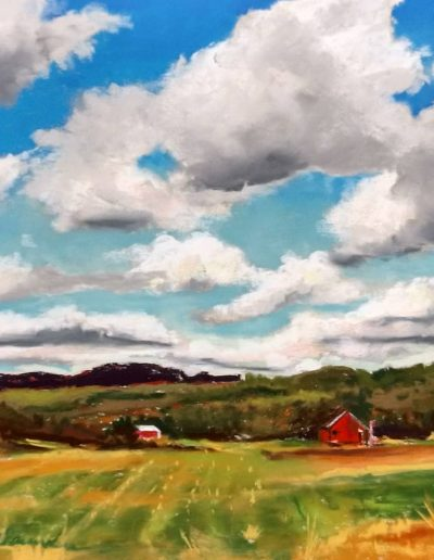 Painting by NorthCountryARTS artist Bev Saunders